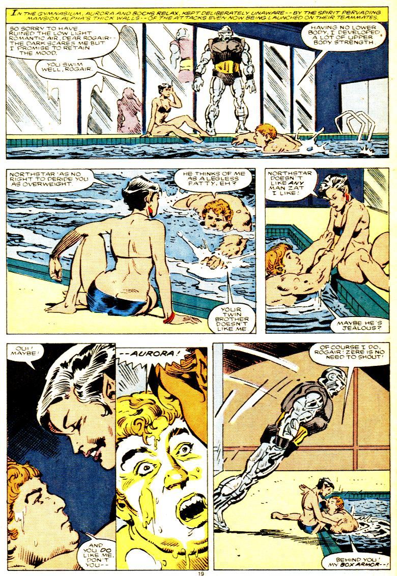 Read online Alpha Flight (1983) comic -  Issue # _Annual 1 - 20