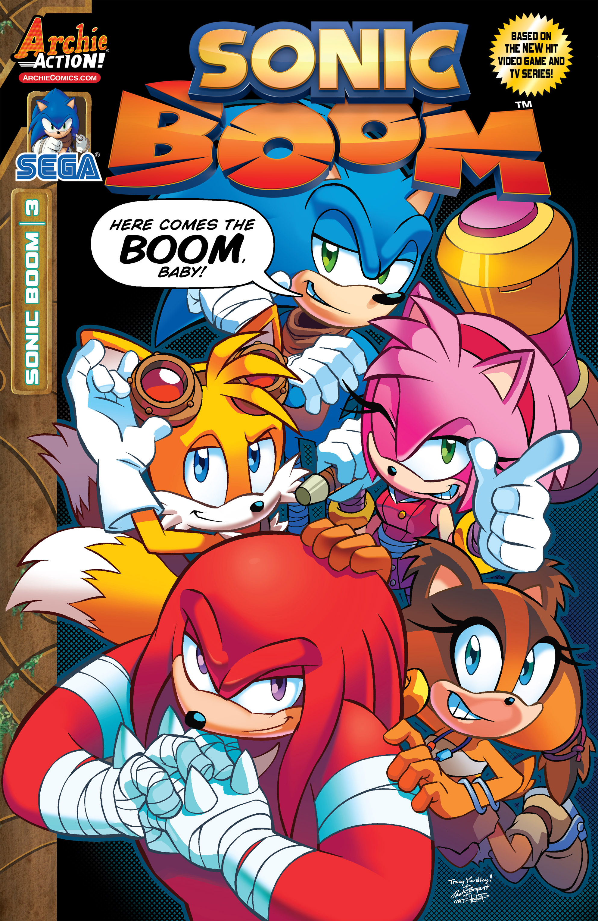 Read online Sonic Boom comic -  Issue #3 - 1