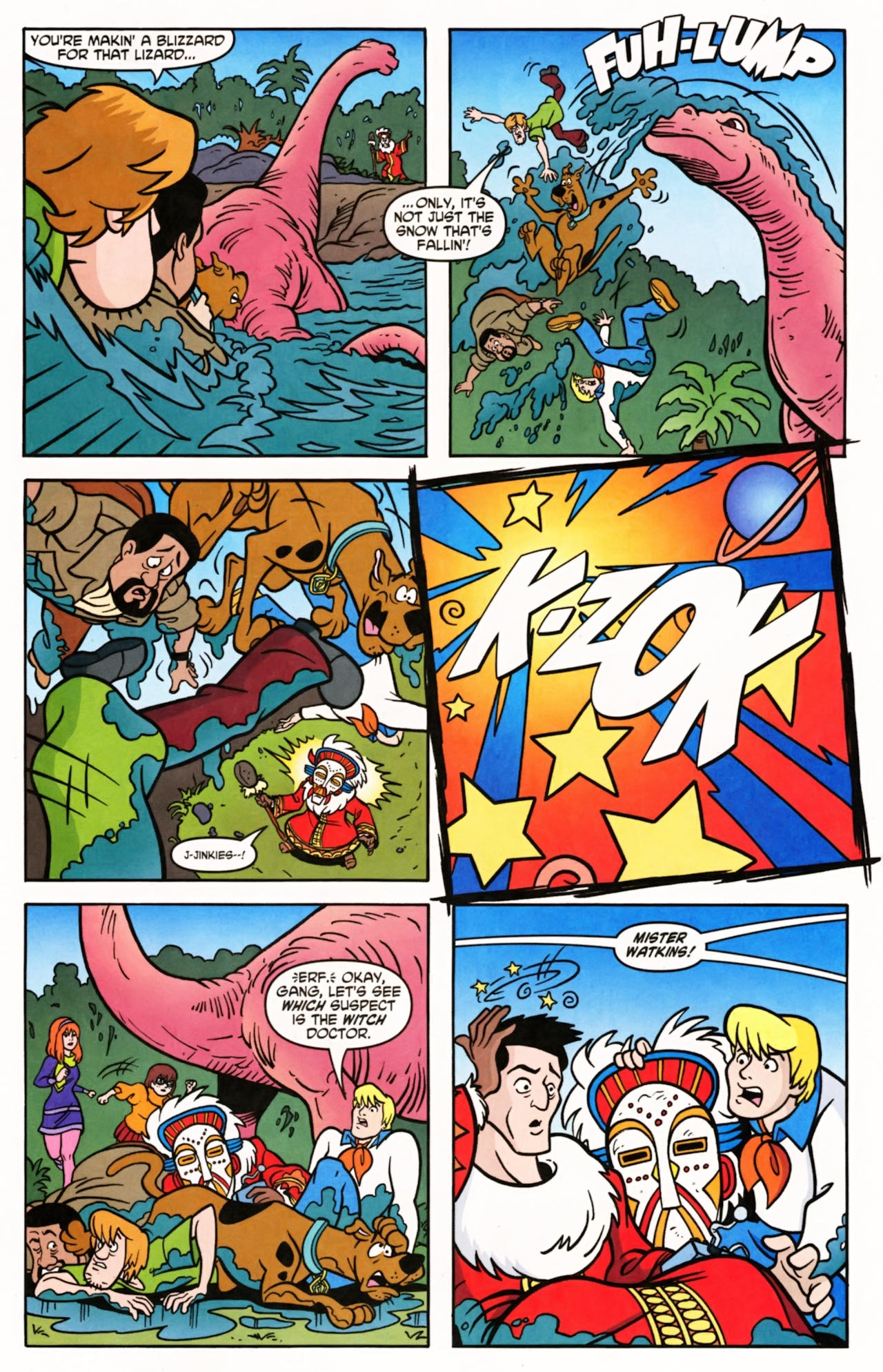 Read online Scooby-Doo (1997) comic -  Issue #145 - 20