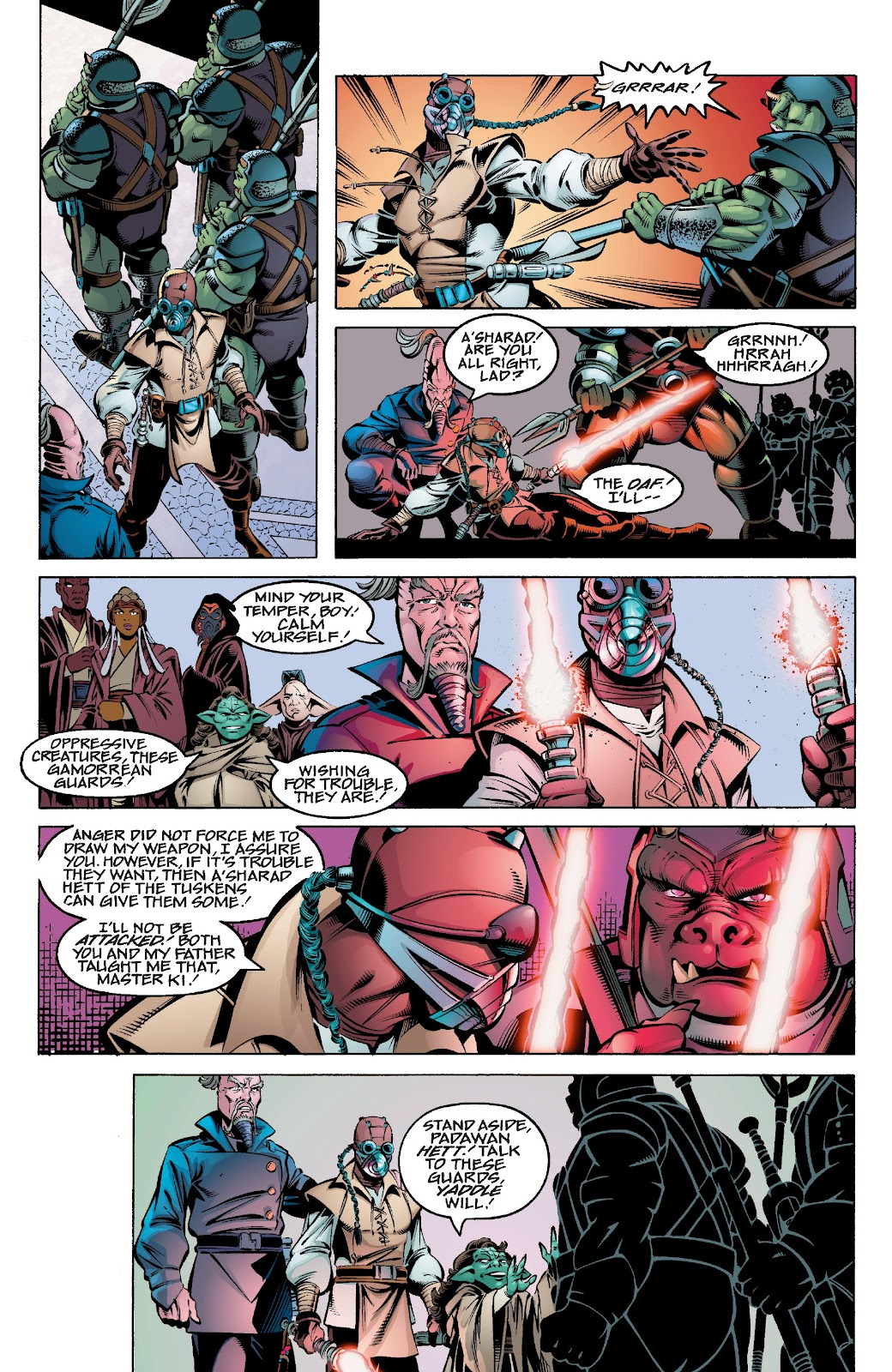 Read online Star Wars Legends Epic Collection: The Menace Revealed comic -  Issue # TPB (Part 3) - 94
