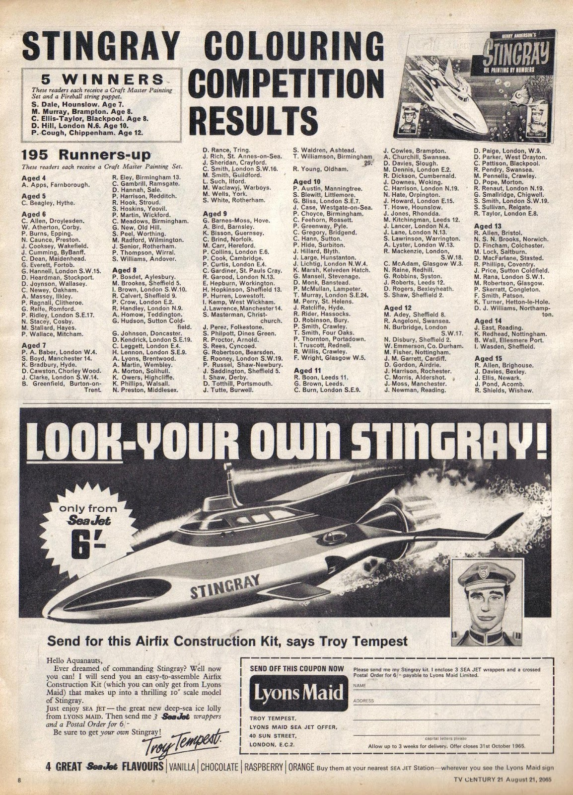 TV Century 21 (TV 21) issue 31 - Page 8