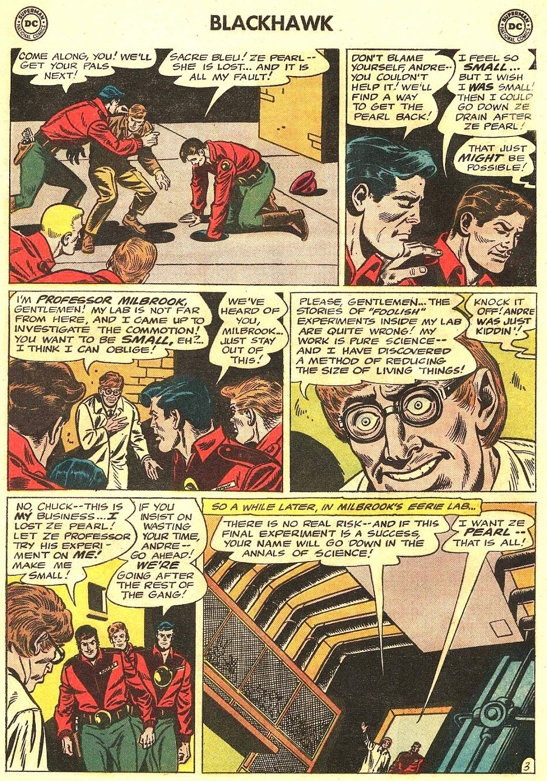 Blackhawk (1957) Issue #201 #94 - English 6
