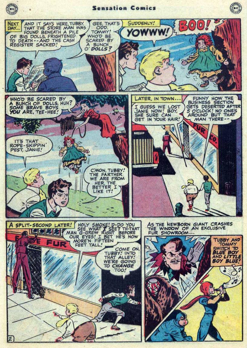 Read online Sensation (Mystery) Comics comic -  Issue #82 - 18