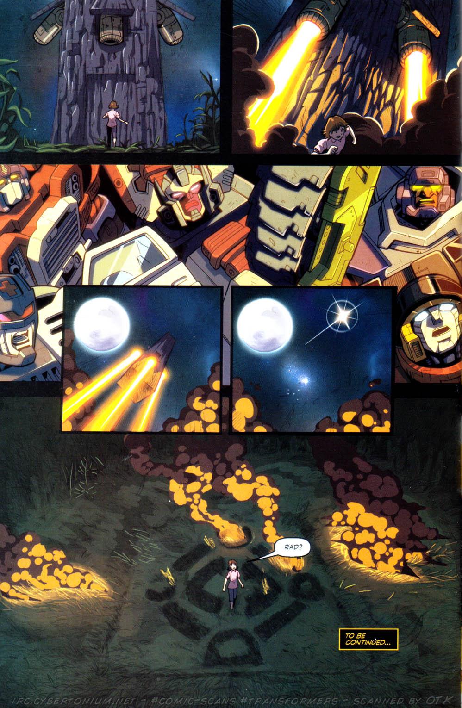 Read online Transformers Armada comic -  Issue #8 - 23