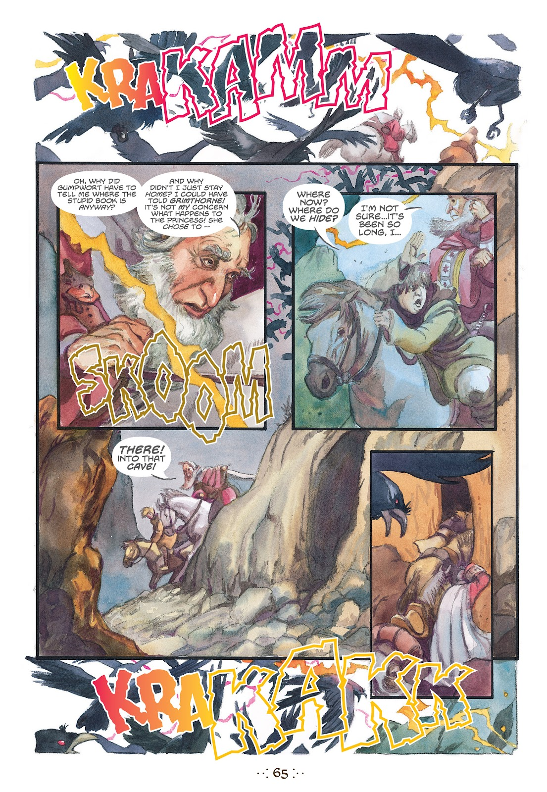 Read online The Wizard's Tale comic -  Issue # TPB - 62