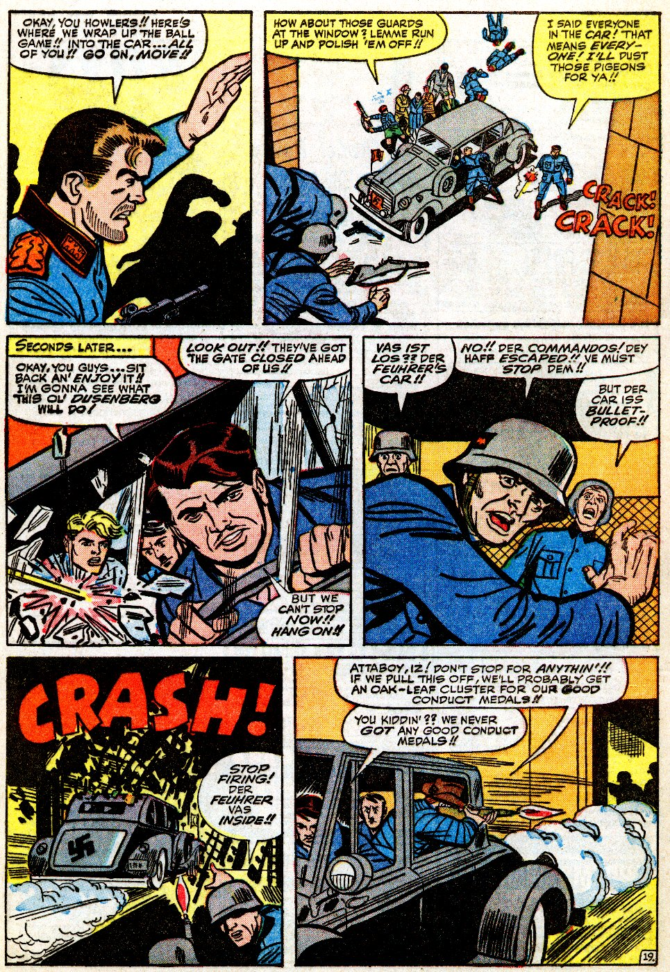 Read online Sgt. Fury comic -  Issue #9 - 28