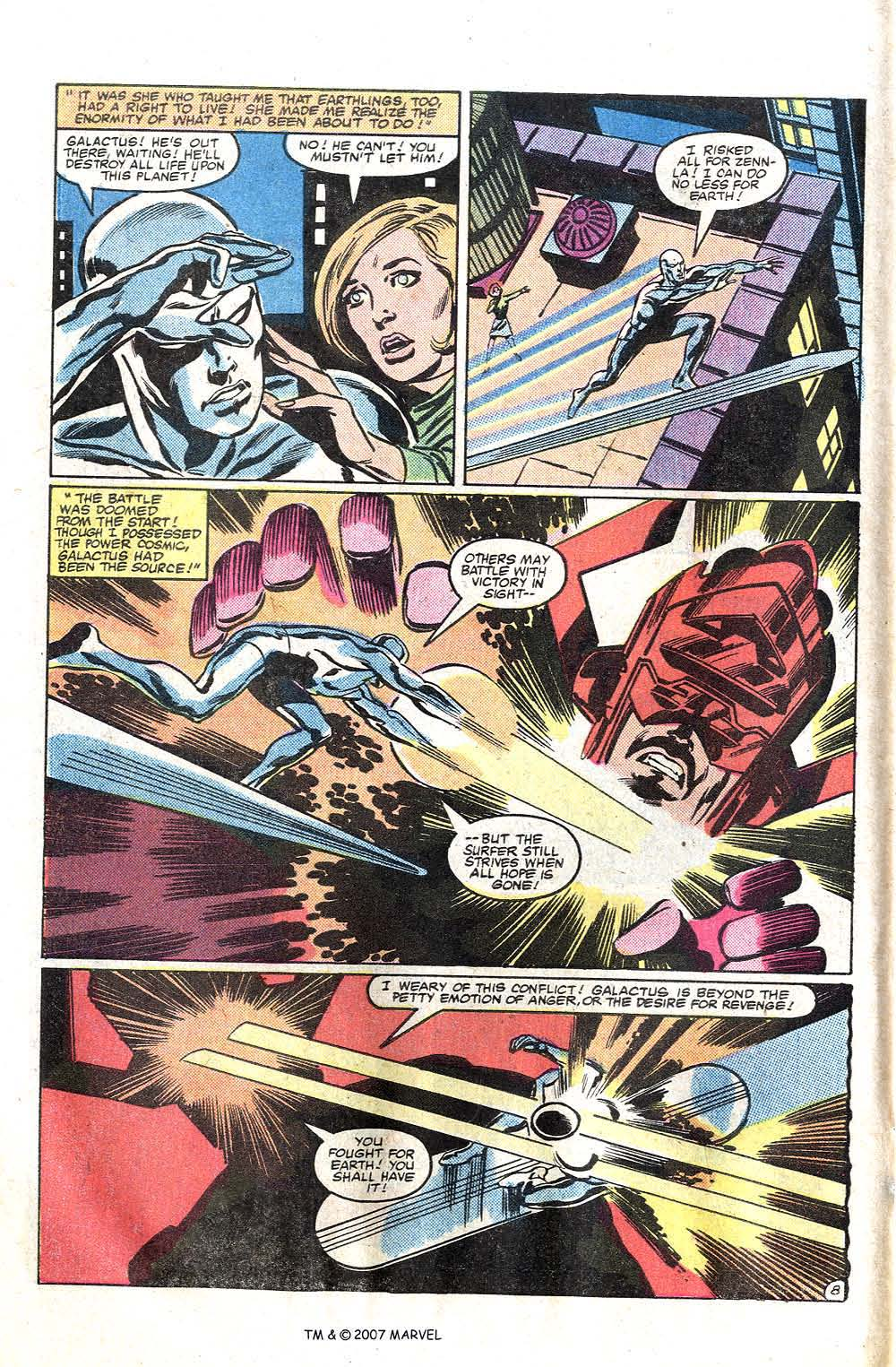 Read online Silver Surfer (1982) comic -  Issue # Full - 10