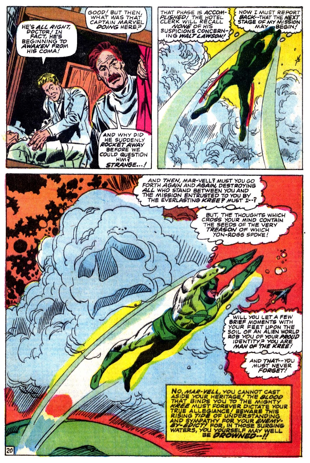 Captain Marvel (1968) issue 5 - Page 21