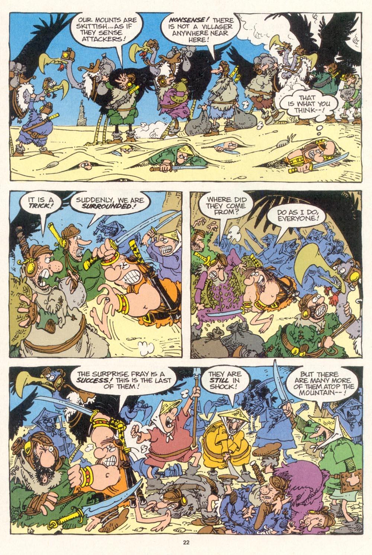 Read online Sergio Aragonés Groo the Wanderer comic -  Issue #115 - 24