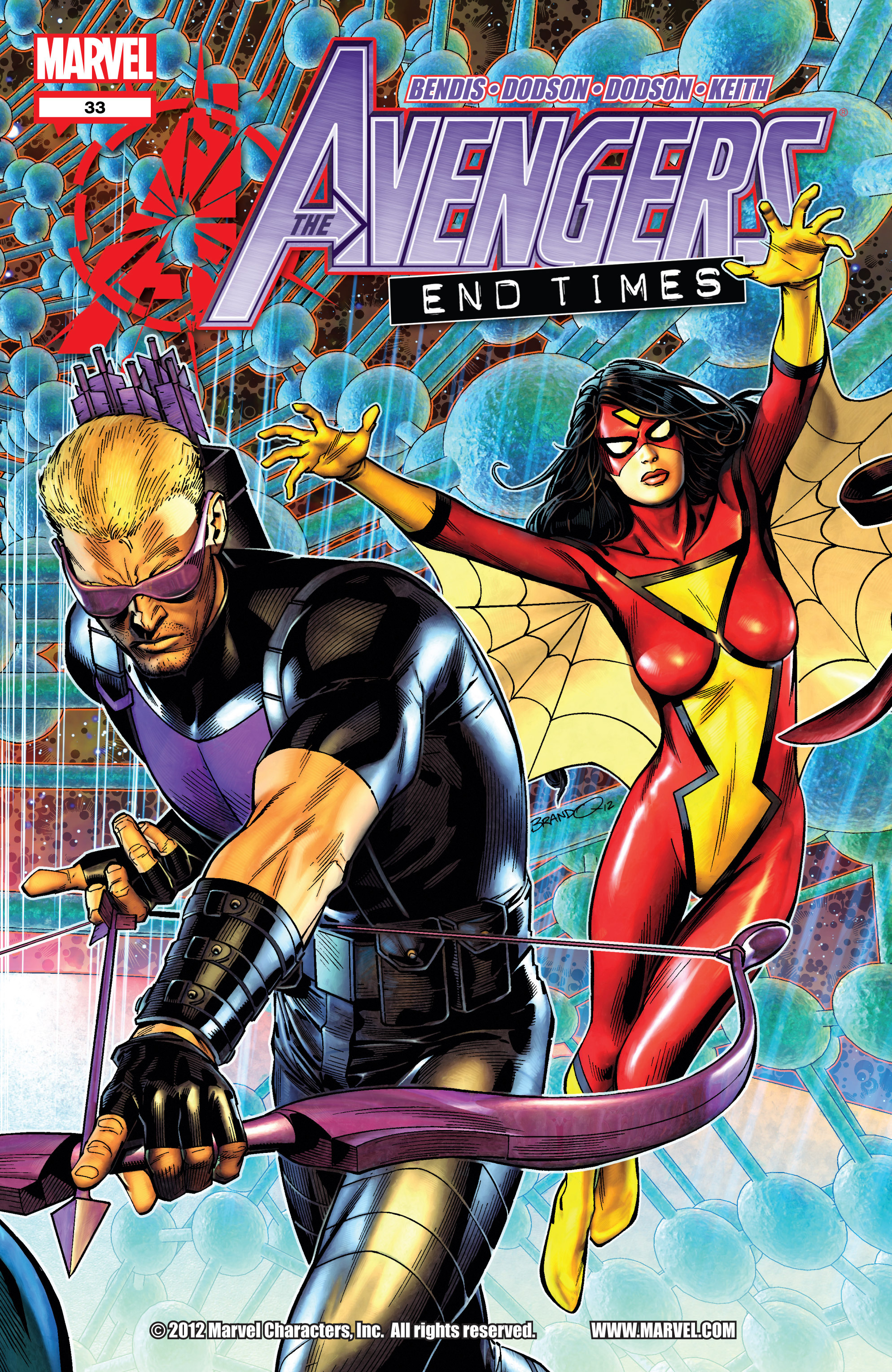 Read online Avengers (2010) comic -  Issue #33 - 1