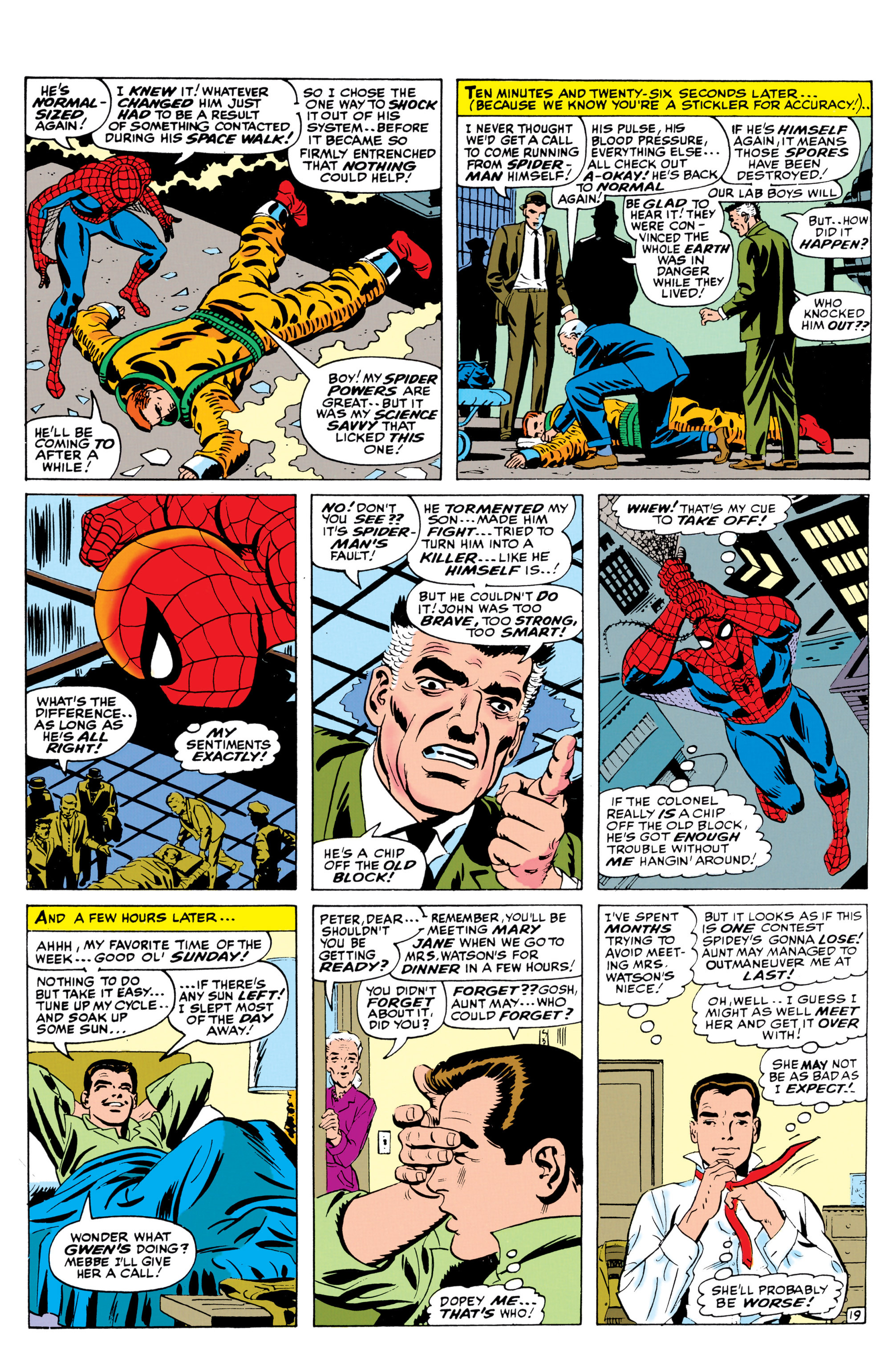 The Amazing Spider-Man (1963) 42 Page 19