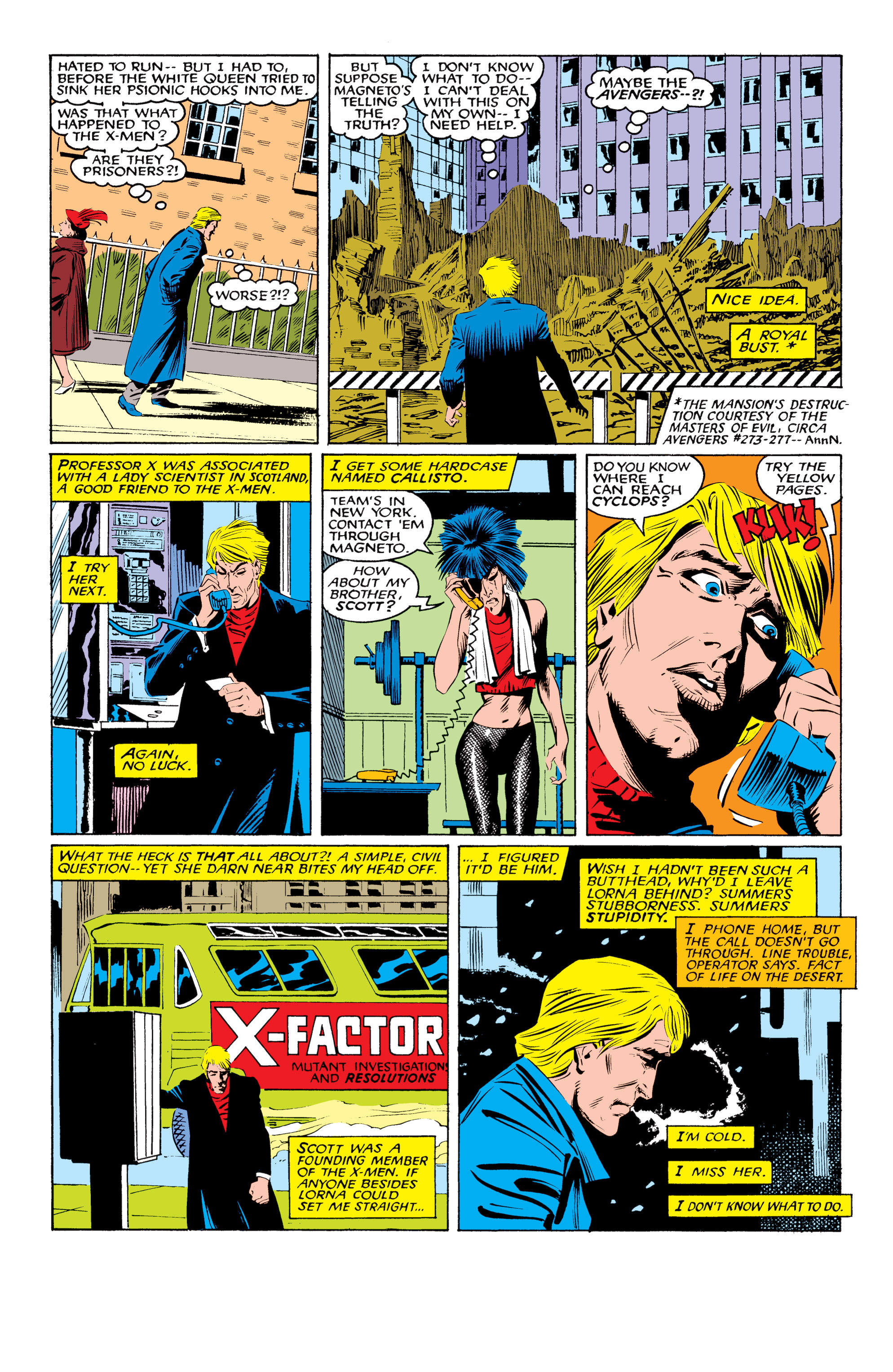 Read online Uncanny X-Men (1963) comic -  Issue #219 - 13