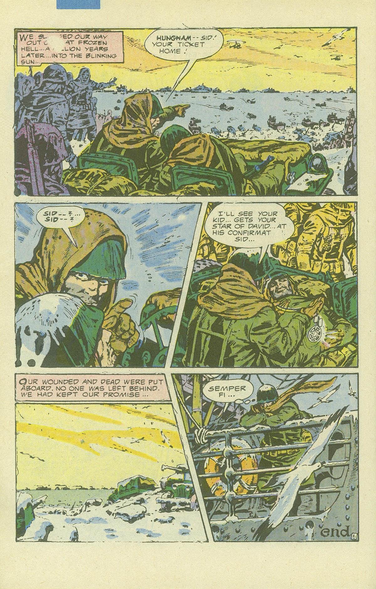 Read online Sgt. Rock comic -  Issue #411 - 31