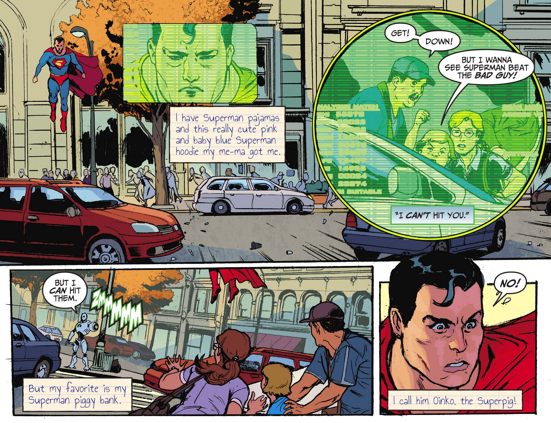 Read online Adventures of Superman [I] comic -  Issue #28 - 5