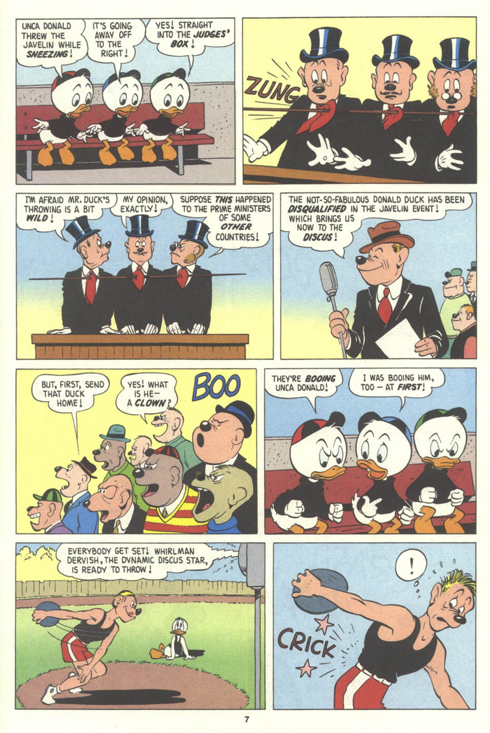 Walt Disney's Comics and Stories issue 575 - Page 8