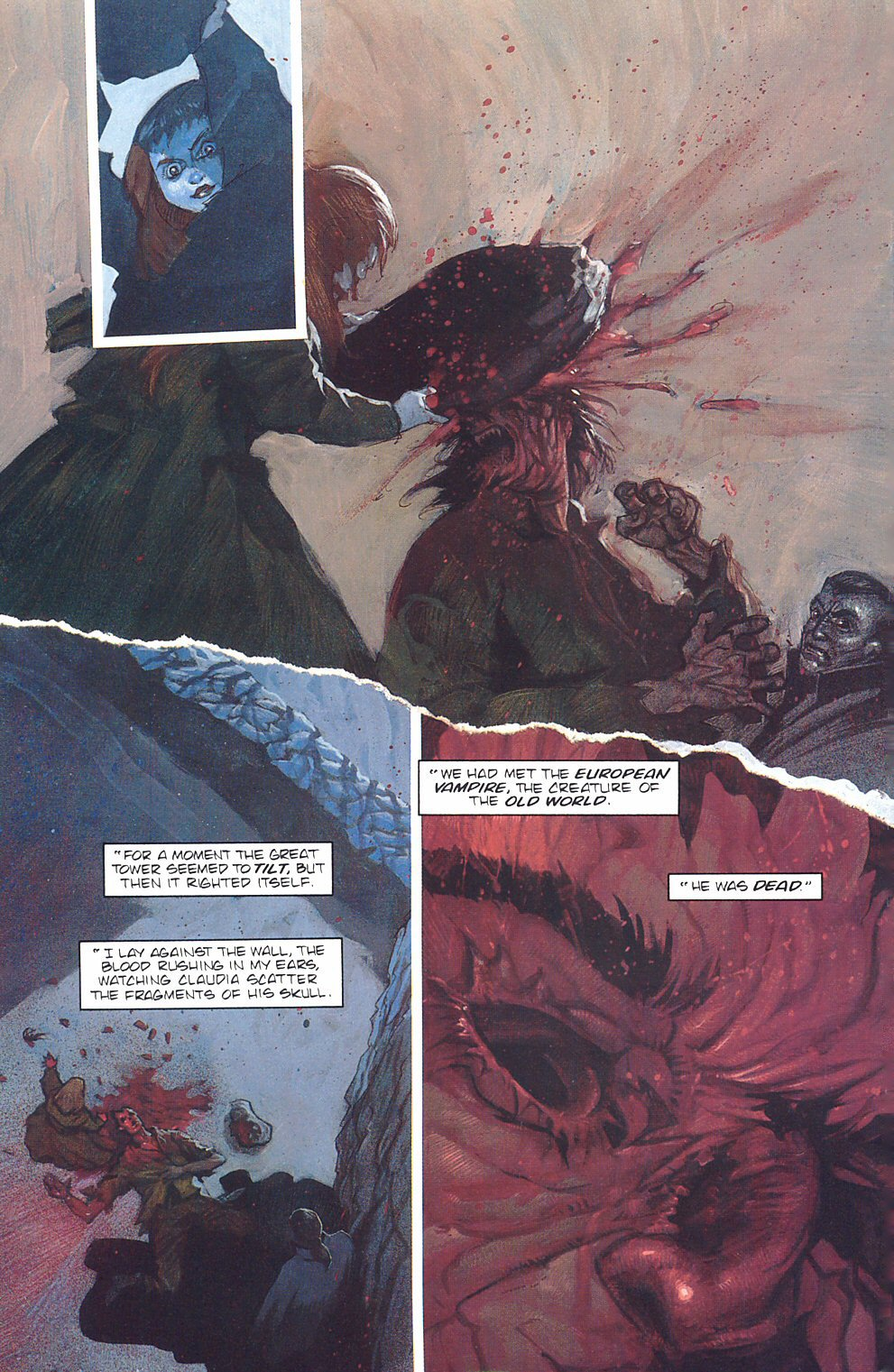 Read online Anne Rice's Interview with the Vampire comic -  Issue #7 - 13