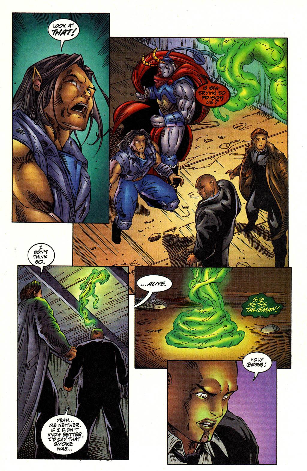 Read online Avengelyne (1996) comic -  Issue #12 - 16