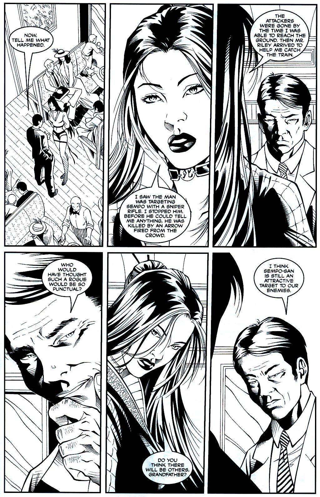 Read online Shi: Sempo comic -  Issue #1 - 18