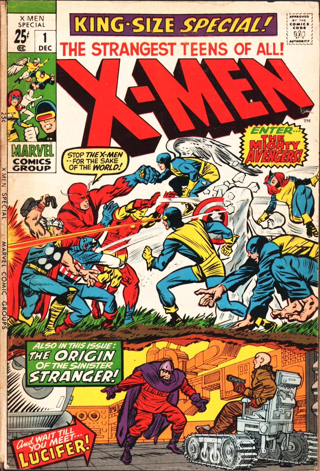 Read online Uncanny X-Men (1963) comic -  Issue # _Annual 1 - 1