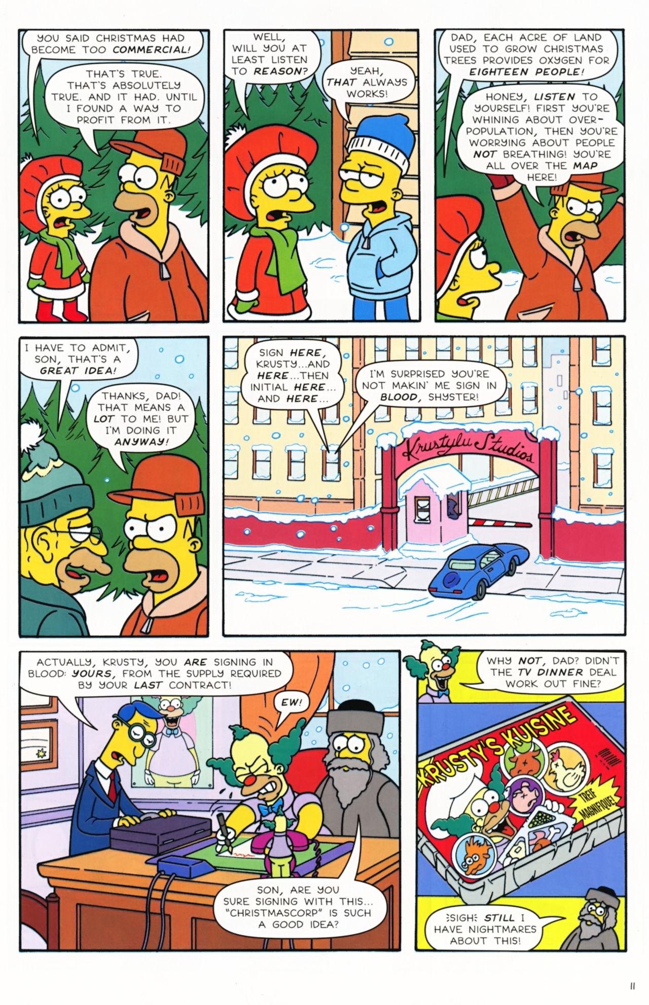 Read online Simpsons Comics comic -  Issue #172 - 13