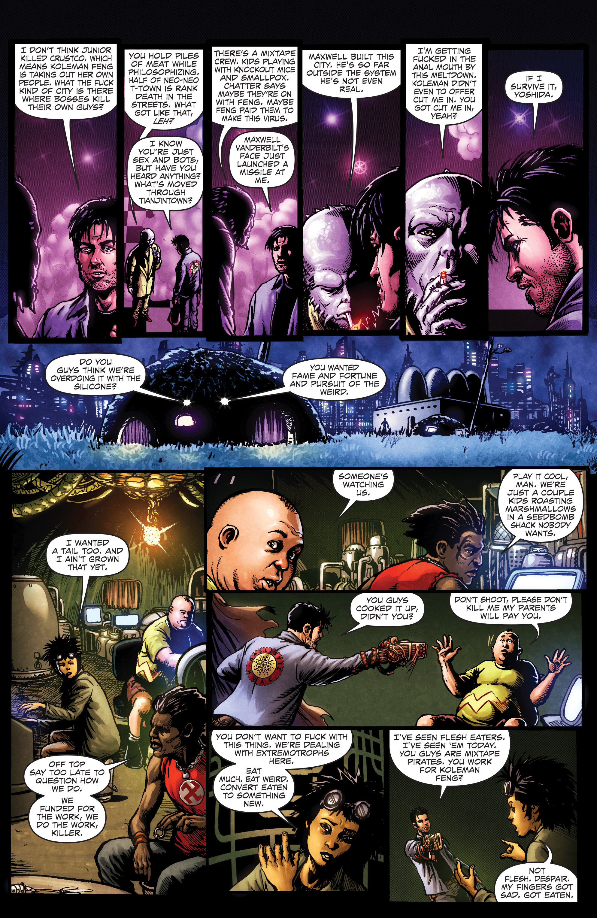 Read online Ballistic (2013) comic -  Issue #3 - 17