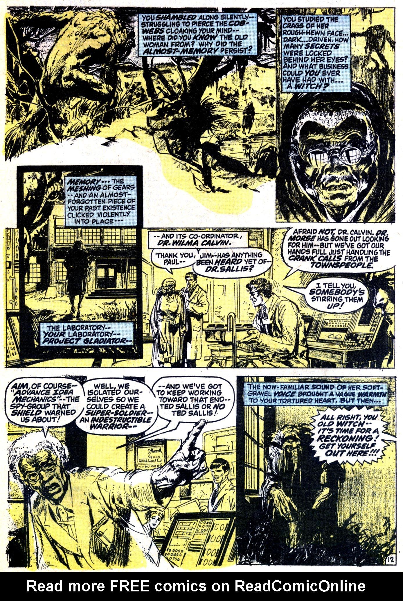Read online Astonishing Tales (1970) comic -  Issue #12 - 13