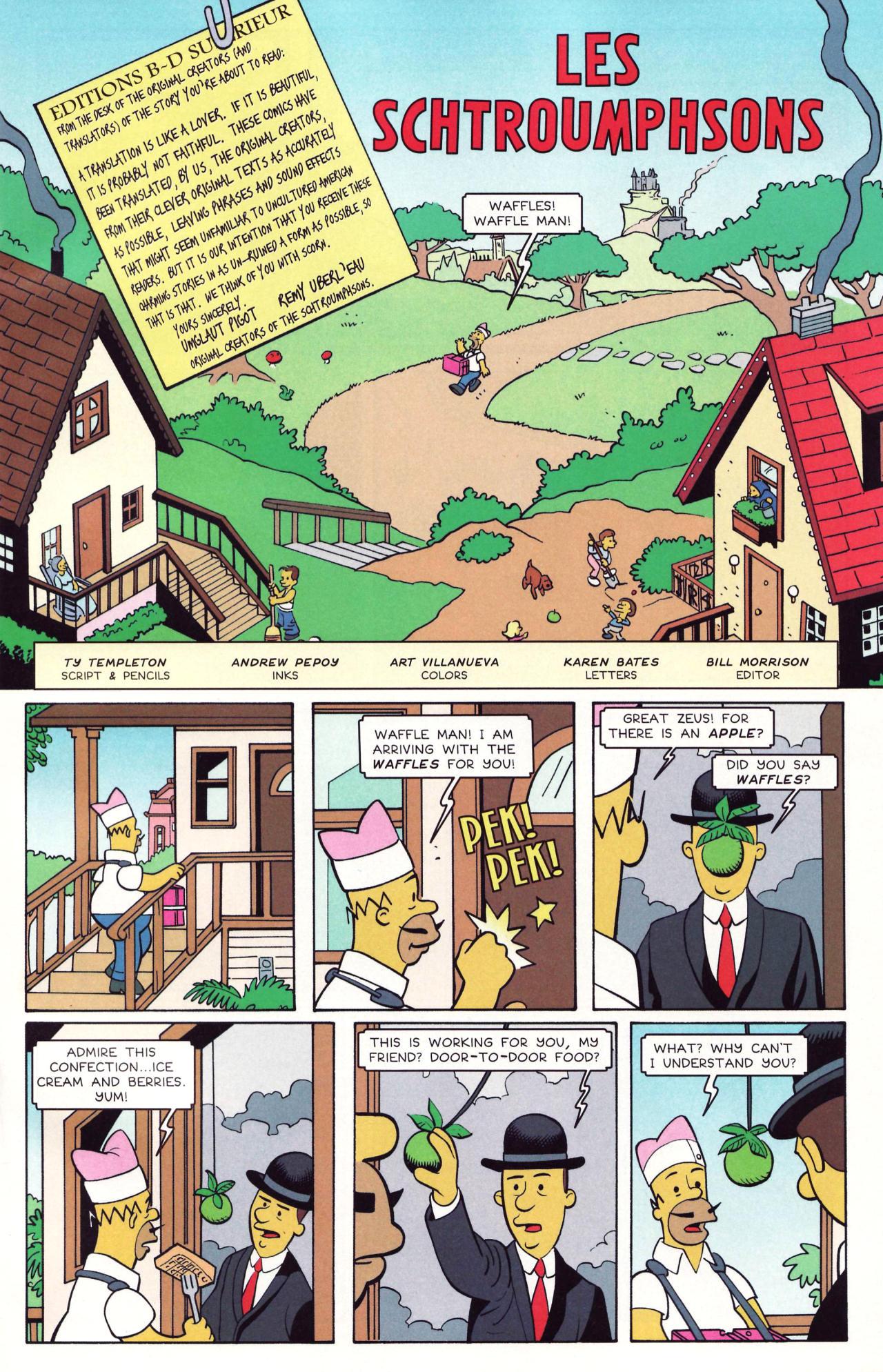 Read online Simpsons Comics comic -  Issue #131 - 12