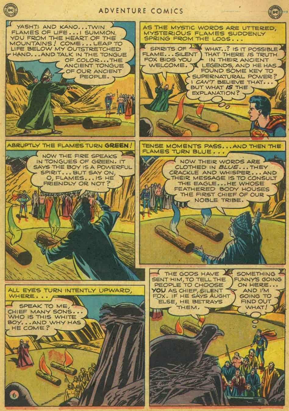 Read online Adventure Comics (1938) comic -  Issue #164 - 8