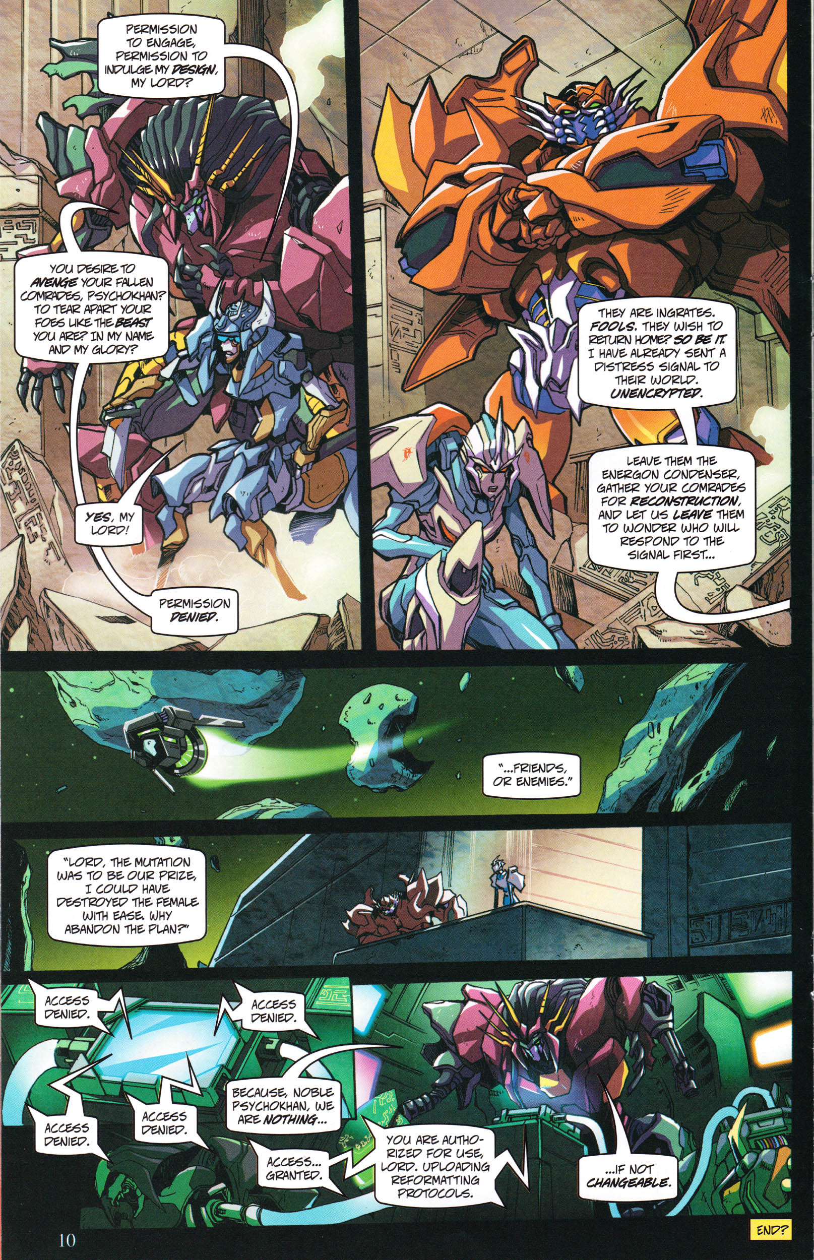 Read online Transformers: Collectors' Club comic -  Issue #60 - 10