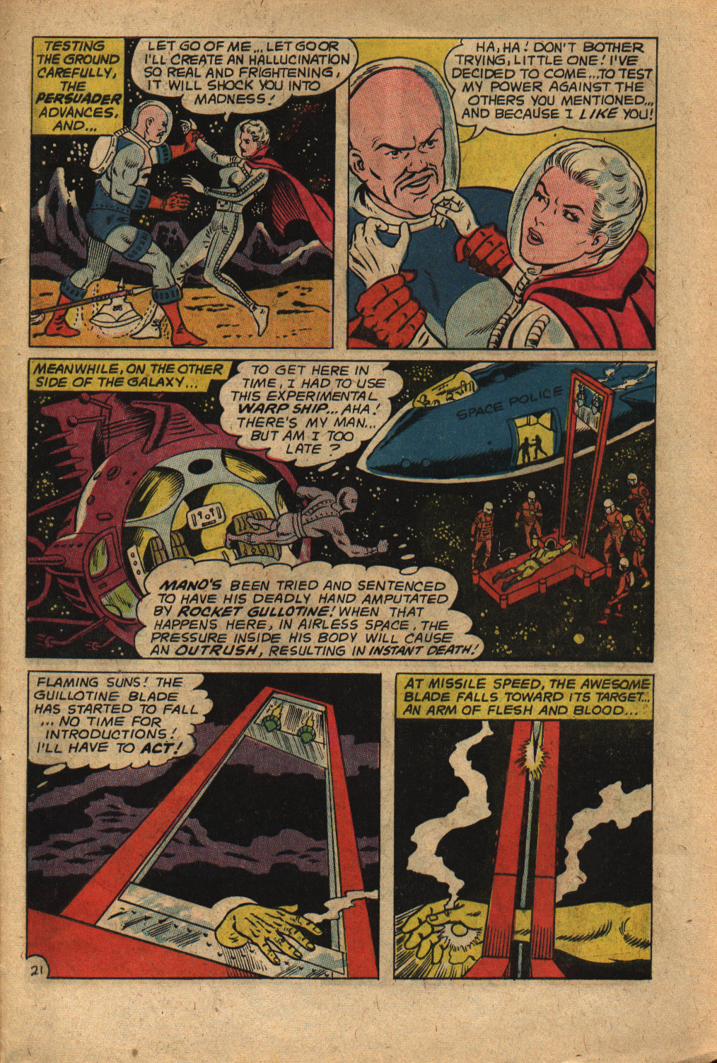 Read online Adventure Comics (1938) comic -  Issue #352 - 29
