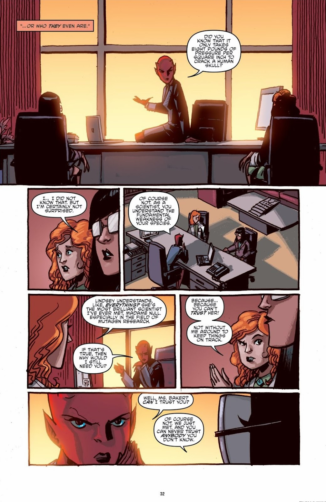 Read online Teenage Mutant Ninja Turtles: The IDW Collection comic -  Issue # TPB 6 (Part 1) - 31