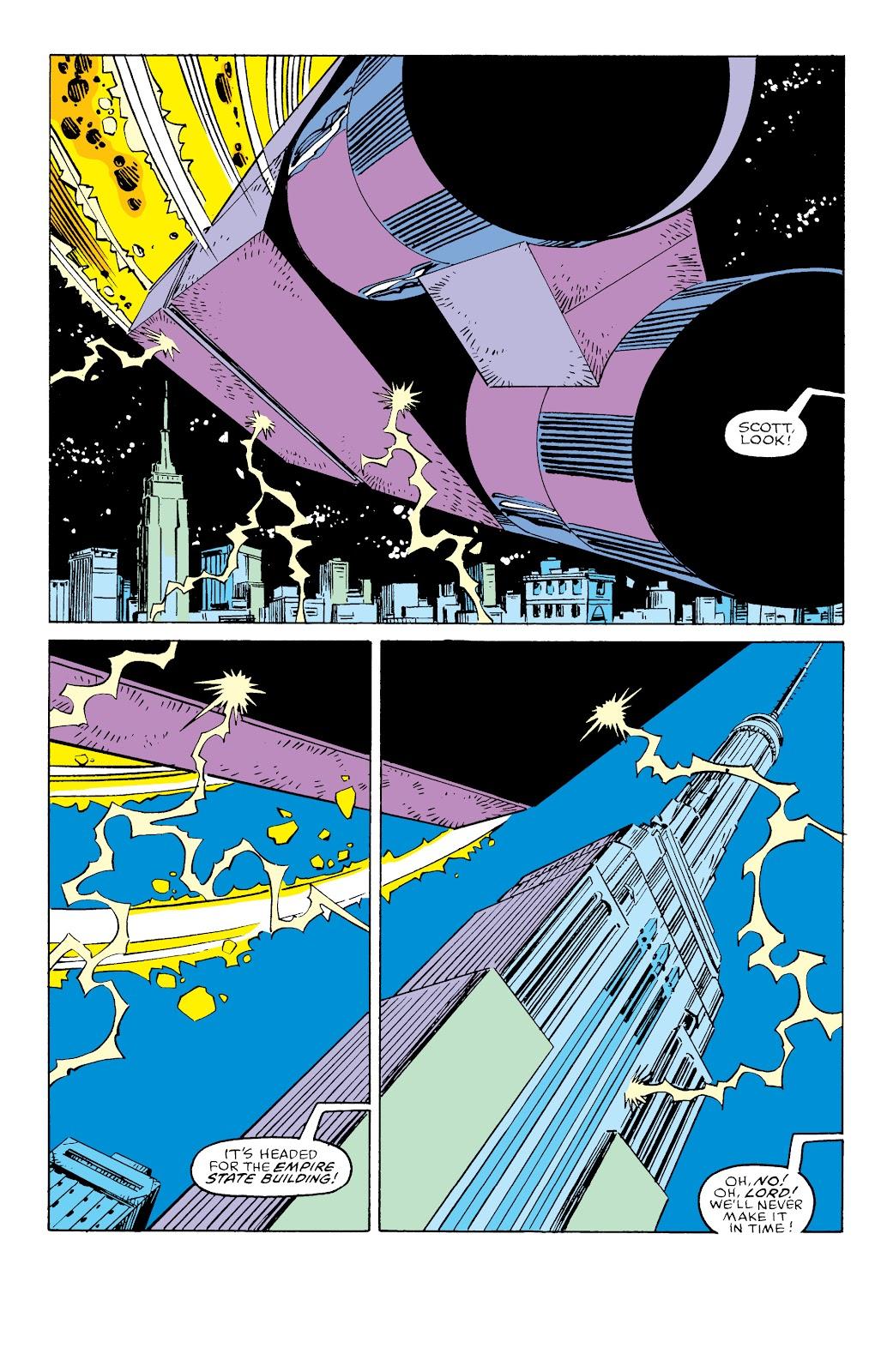 Read online X-Men Milestones: Fall of the Mutants comic -  Issue # TPB (Part 3) - 25