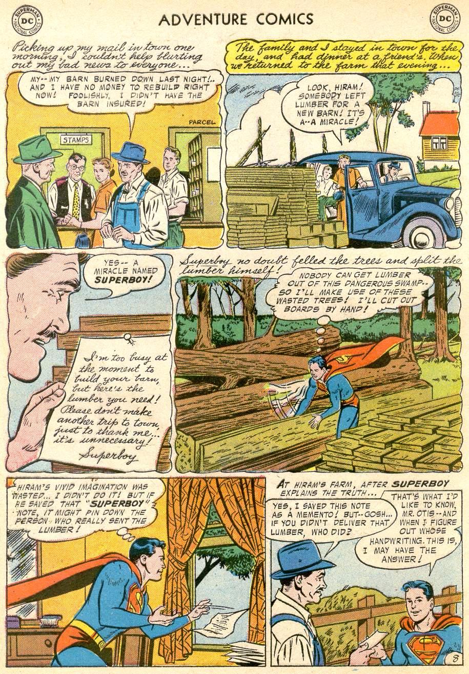 Read online Adventure Comics (1938) comic -  Issue #227 - 10