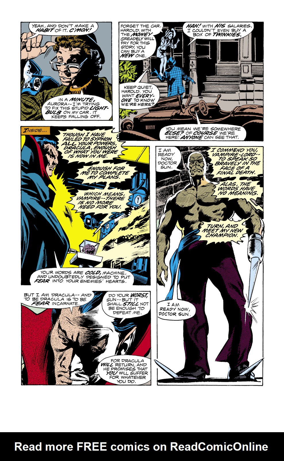Tomb of Dracula (1972) issue 39 - Page 5