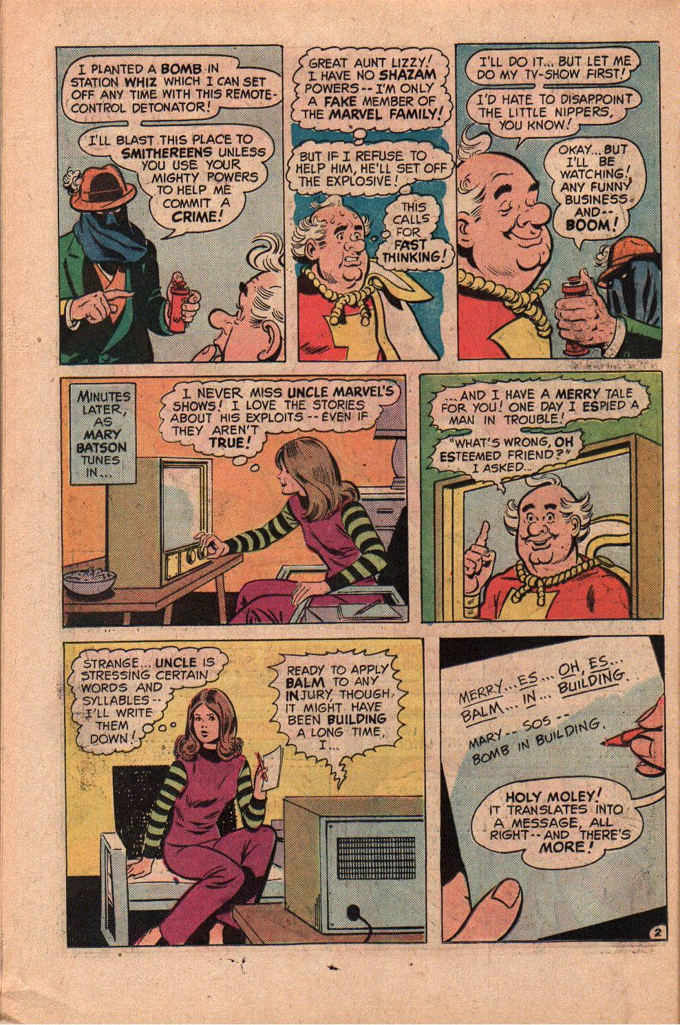 Read online Shazam! (1973) comic -  Issue #19 - 26