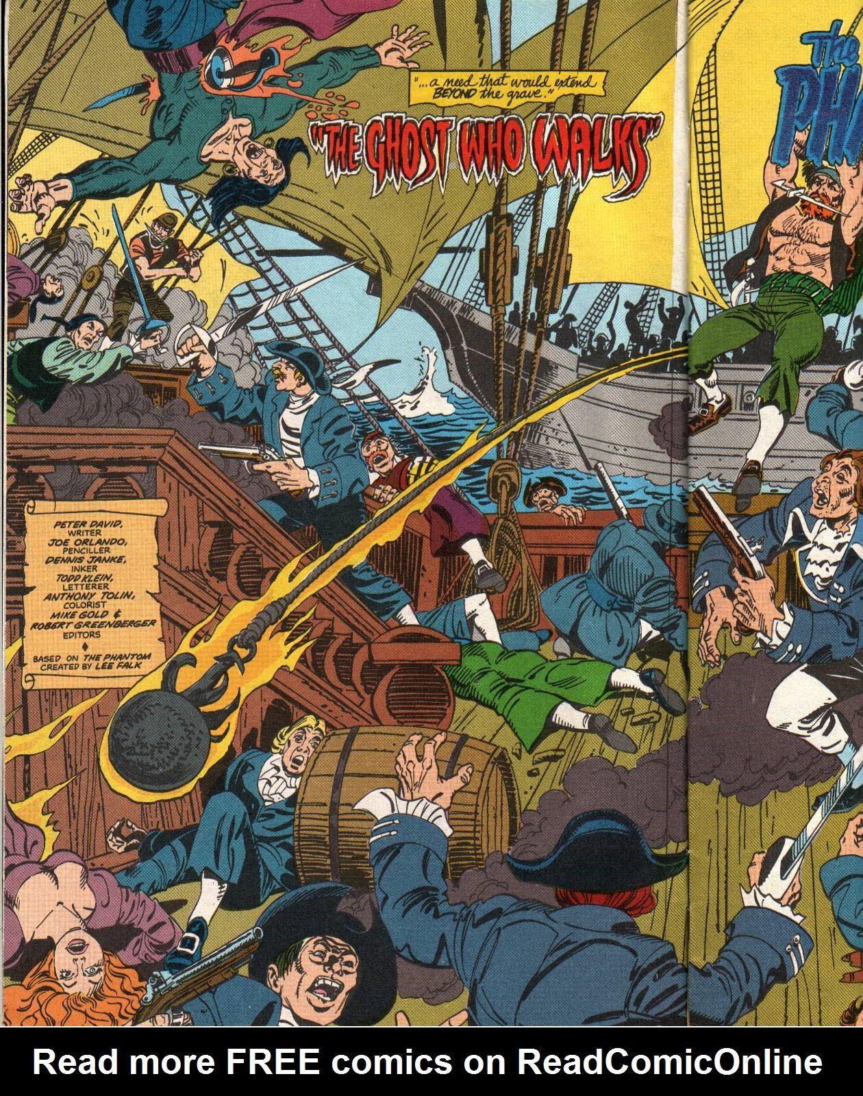 Read online The Phantom (1988) comic -  Issue #1 - 6
