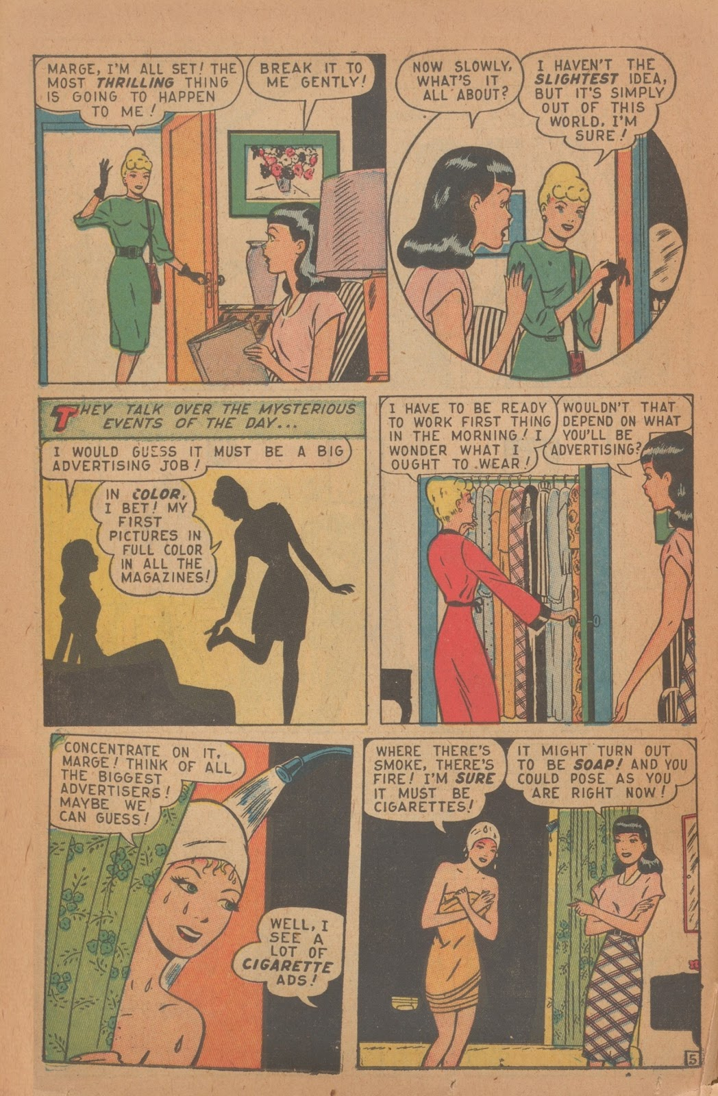 Read online Nellie The Nurse (1945) comic -  Issue #9 - 38