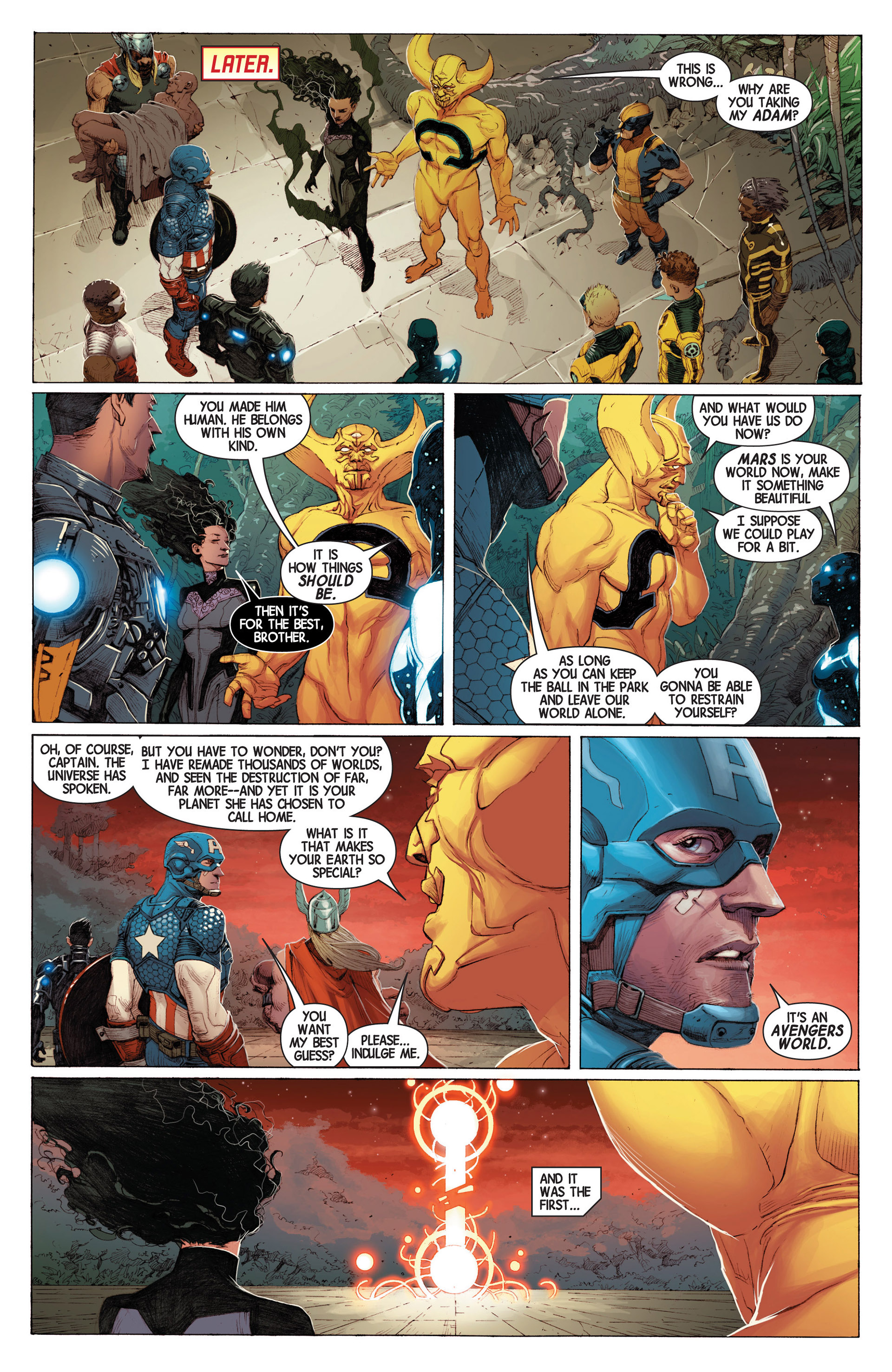 Read online Avengers (2013) comic -  Issue #3 - 24