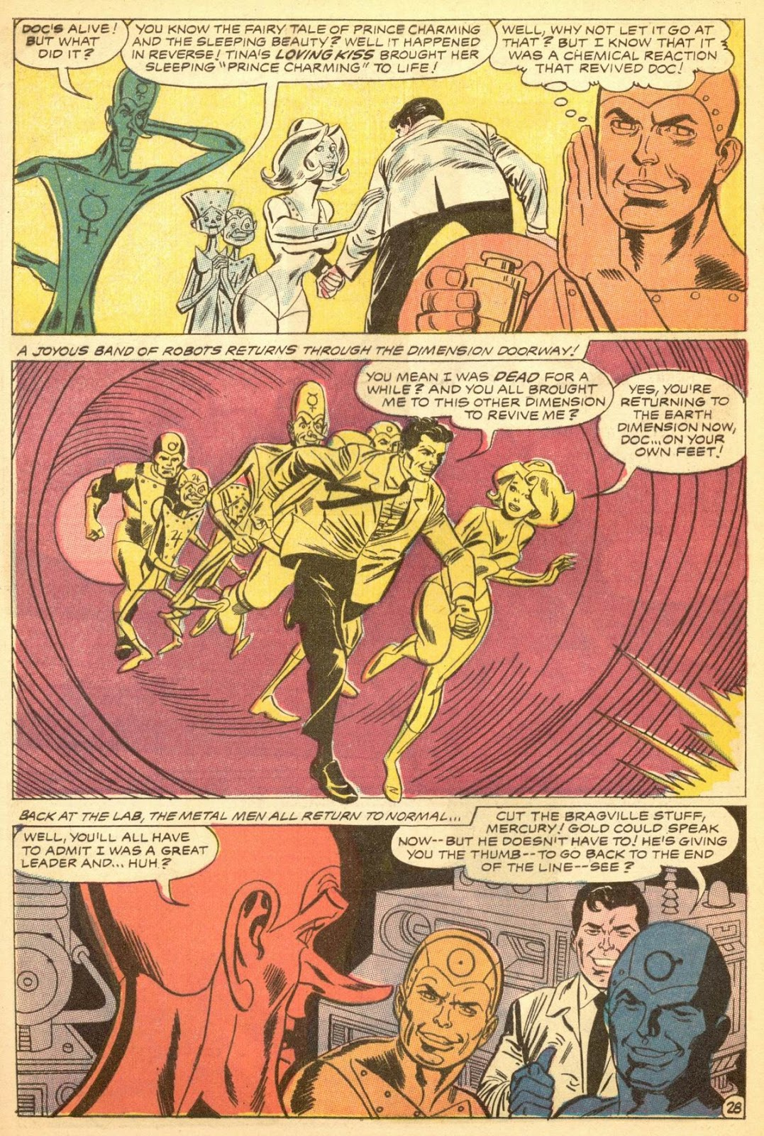 Metal Men (1963) issue 30 - Page 32
