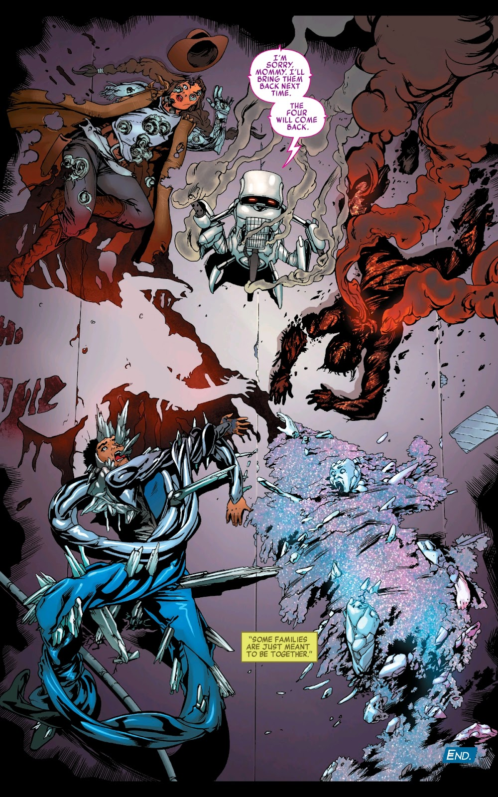 Read online Fantastic Four 2099 (2019) comic -  Issue # Full - 31