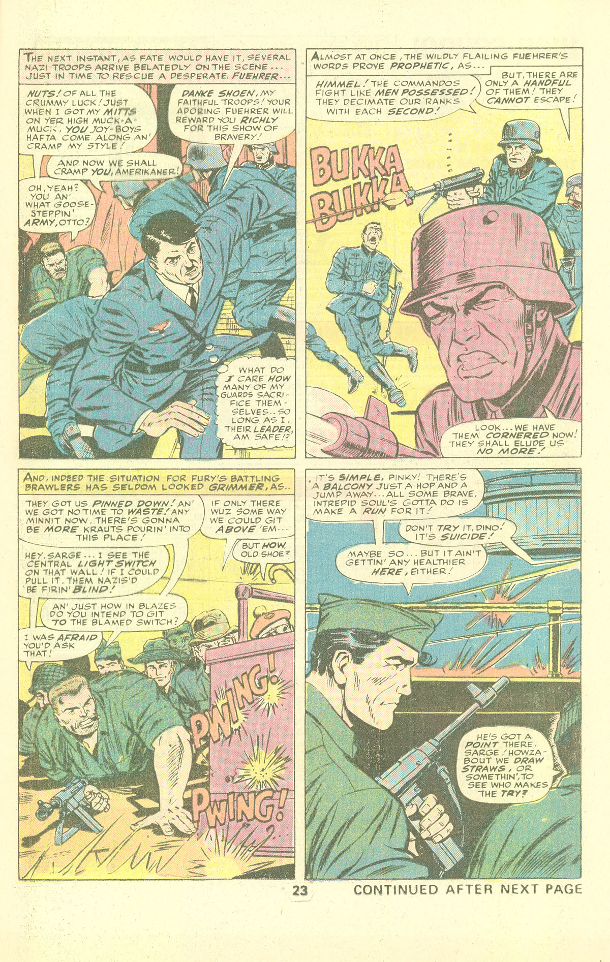 Read online Sgt. Fury comic -  Issue #137 - 25