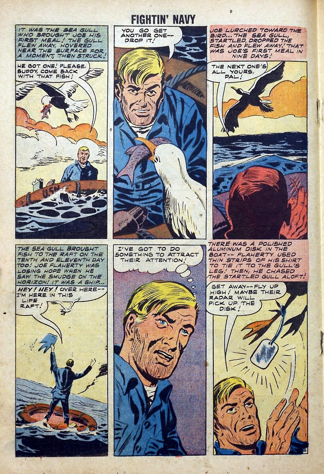 Read online Fightin' Navy comic -  Issue #84 - 18