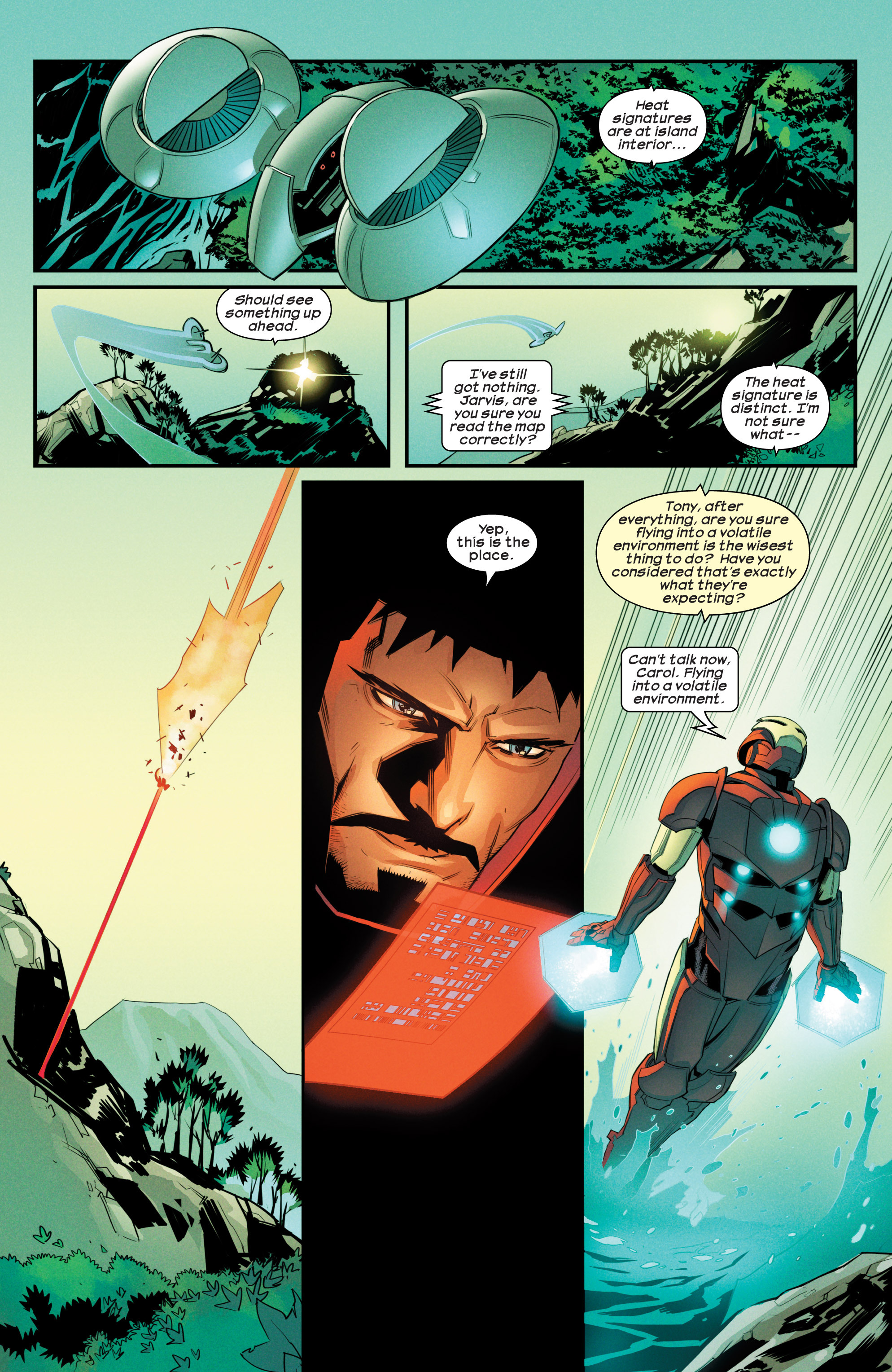 Read online Ultimate Comics Iron Man comic -  Issue #3 - 17