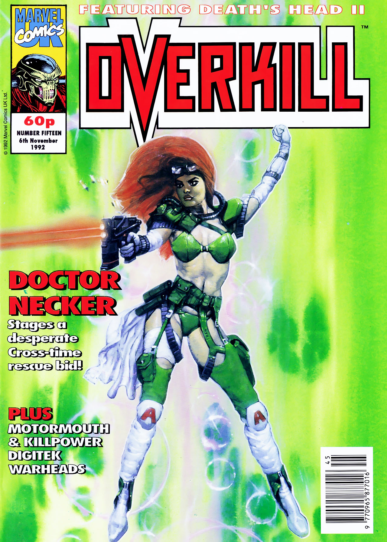 Read online Overkill comic -  Issue #15 - 1
