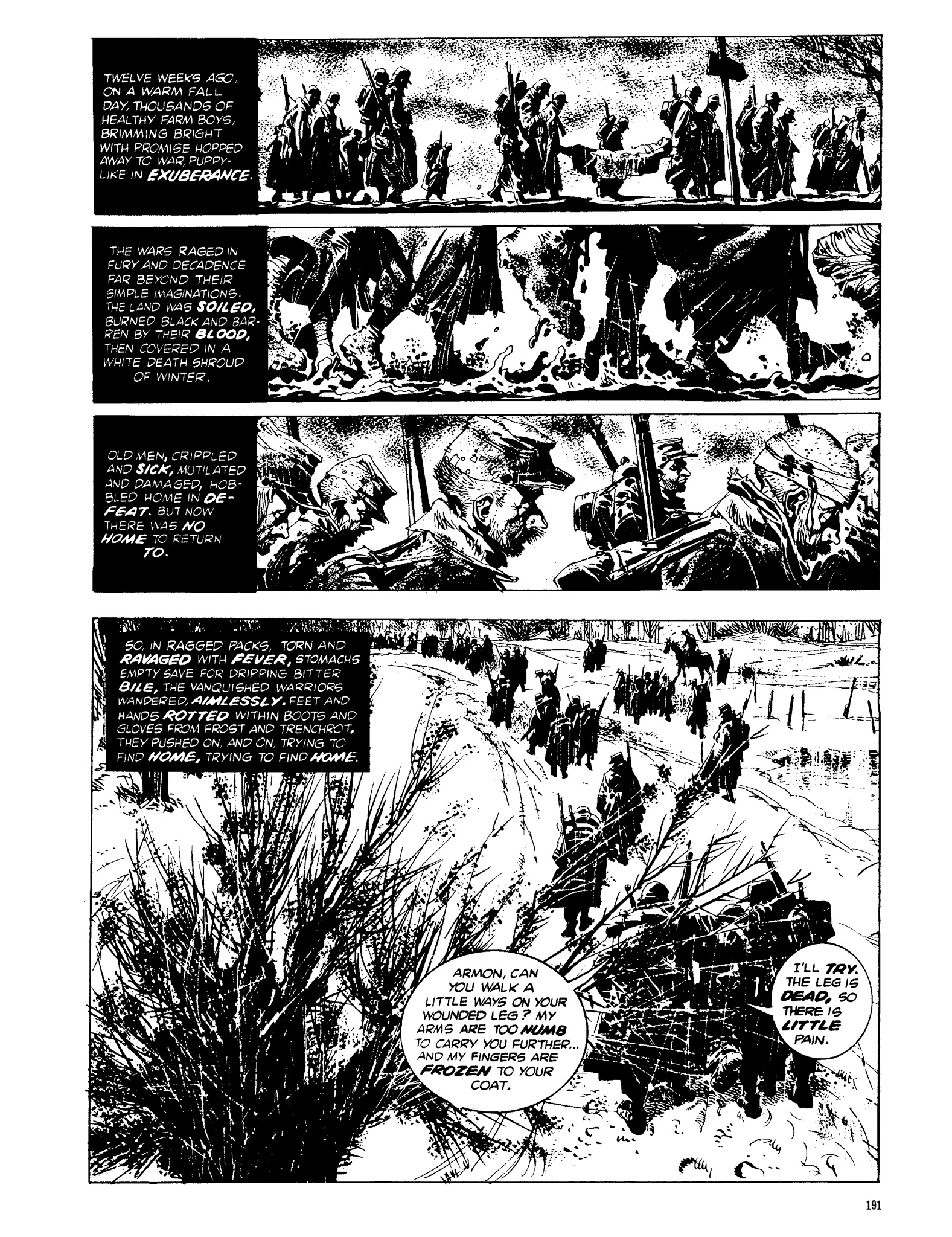 Read online Eerie Archives comic -  Issue # TPB 13 - 192