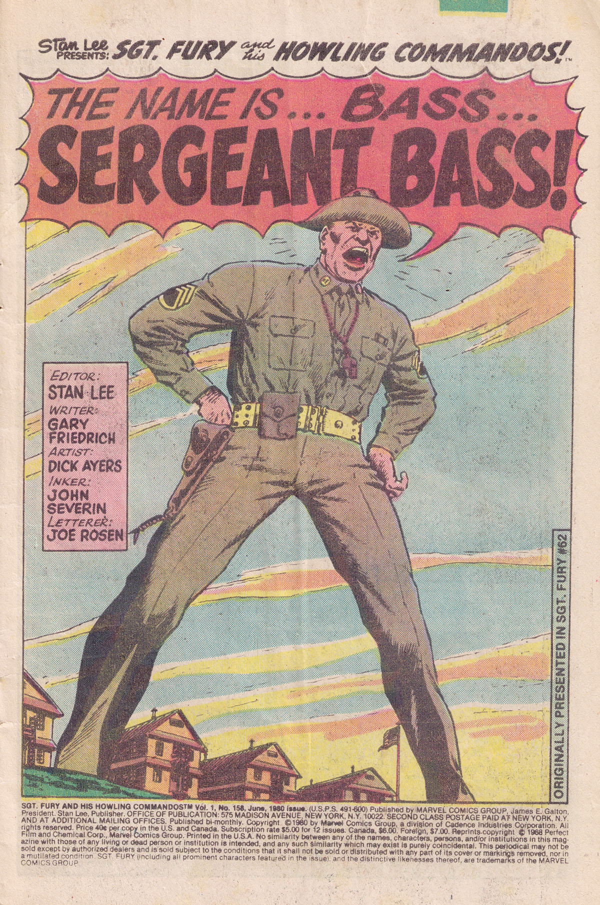 Read online Sgt. Fury comic -  Issue #158 - 3