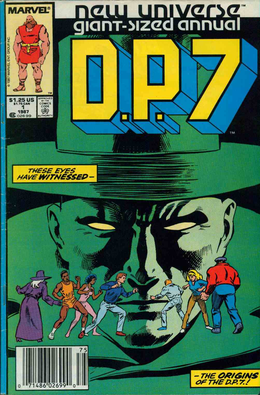 Read online DP7 comic -  Issue # _Annual 1 - 1
