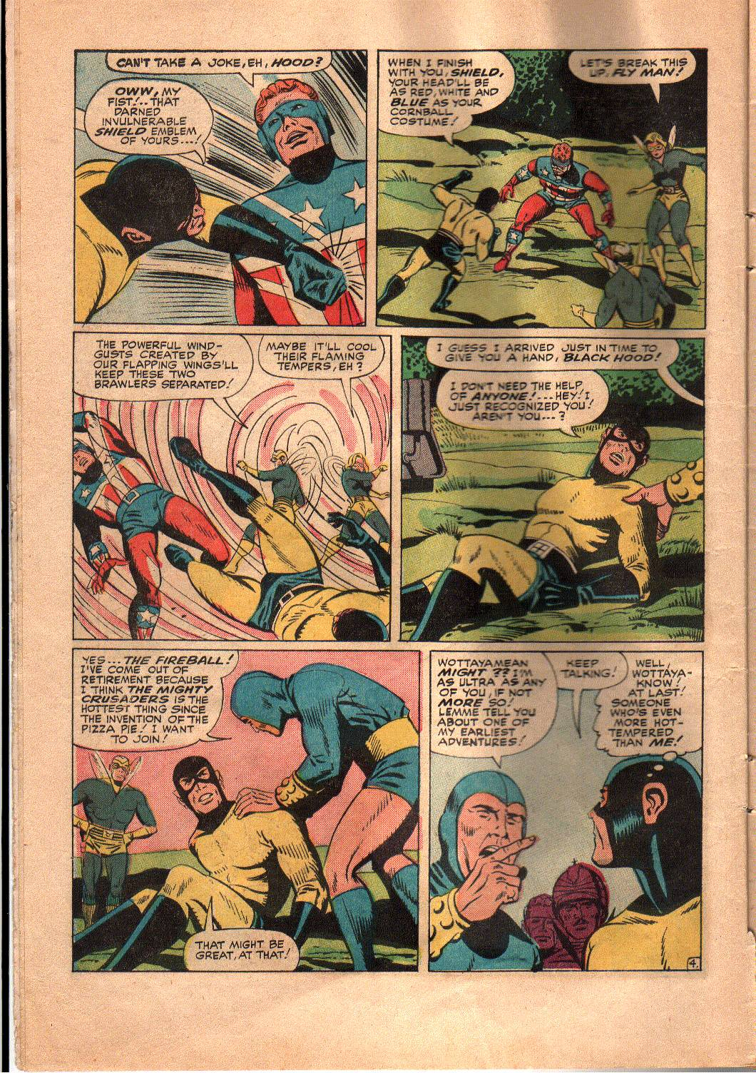 The Mighty Crusaders (1965) Issue #4 #4 - English 5