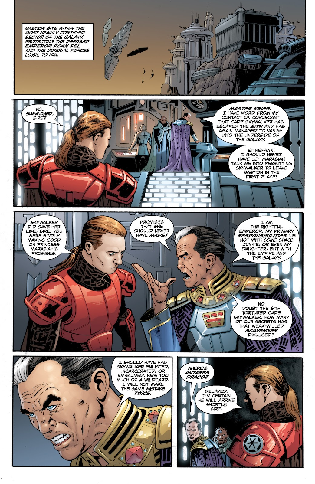 Read online Star Wars Legends: Legacy - Epic Collection comic -  Issue # TPB 2 (Part 2) - 11