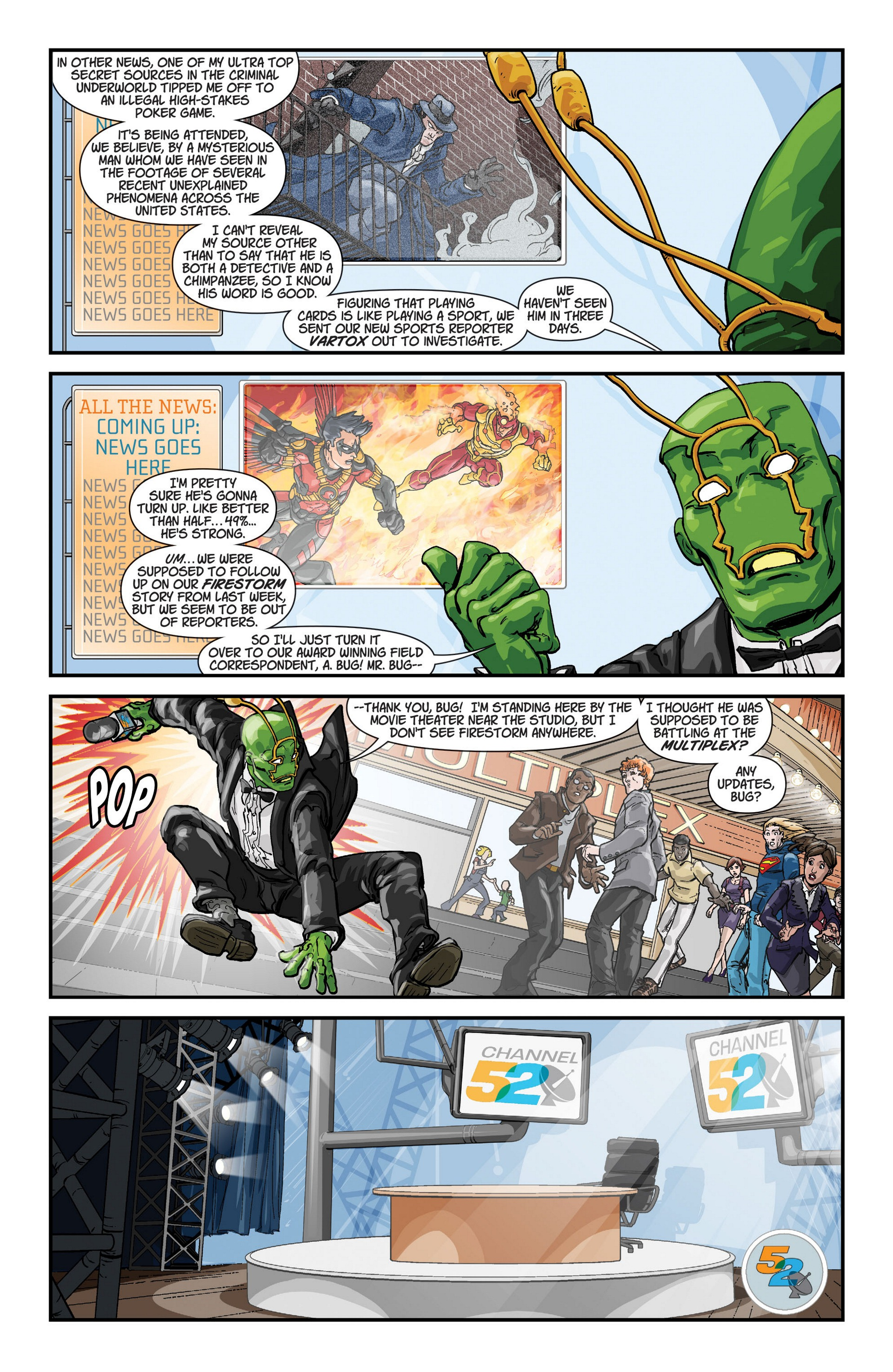 Read online Trinity of Sin: The Phantom Stranger comic -  Issue #6 - 22